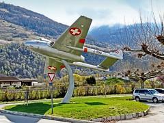 Suisse, Fête de l'air Aéroport de Sion