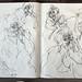 2006.01-2007.12[5] Shanghai Sanlintang Studio Sketchbooks 1to5 上海三林塘工作室 草稿速写簿第一至第五本-349