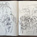 2006.01-2007.12[5] Shanghai Sanlintang Studio Sketchbooks 1to5 上海三林塘工作室 草稿速写簿第一至第五本-365