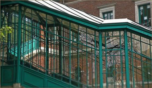 Galerie d'accès à la gare de Chaudfontaine, Belgique