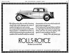 1932 Rolls-Royce Continental Touring Saloon
