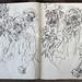 2006.01-2007.12[5] Shanghai Sanlintang Studio Sketchbooks 1to5 上海三林塘工作室 草稿速写簿第一至第五本-360