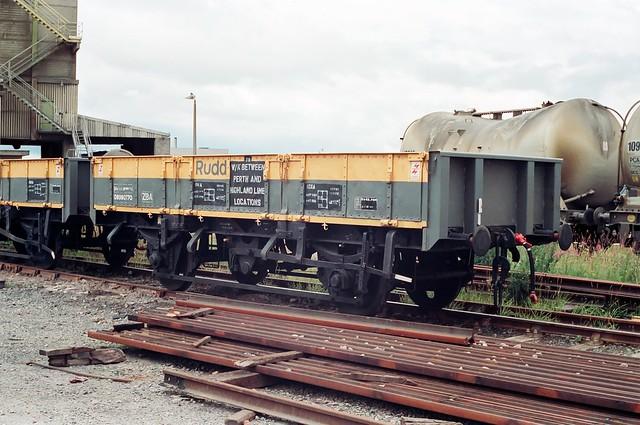 31 ton Ballast & Sleeper Wagon. 'Rudd'.