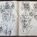 2006.01-2007.12[5] Shanghai Sanlintang Studio Sketchbooks 1to5 上海三林塘工作室 草稿速写簿第一至第五本-358