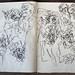 2006.01-2007.12[5] Shanghai Sanlintang Studio Sketchbooks 1to5 上海三林塘工作室 草稿速写簿第一至第五本-359