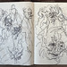 2006.01-2007.12[5] Shanghai Sanlintang Studio Sketchbooks 1to5 上海三林塘工作室 草稿速写簿第一至第五本-364
