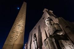 Obelisk and Statue