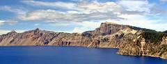 Crater Lake North Rim, Llalo Rock, OR 2013
