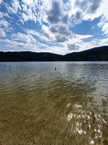 Richard swimming in Stubenbergsee