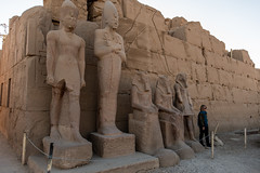 Line of statues