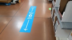 Another example from the Walmart Social Distancing decor package