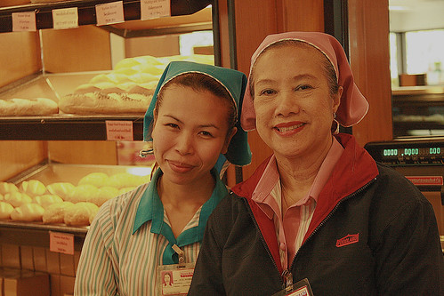 bakery ladies