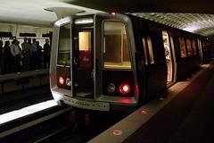 1000-Series train at Metro Center