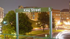 Station name plaque at King Street