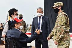 Yoon Gate Commemoration - U.S. Army Garrison Humphreys, South Korea -  July. 2. 2020.