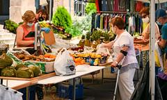 Cardona: mercat de diumenge