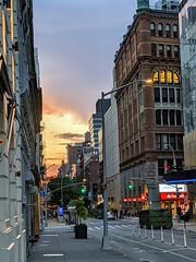 Sunset on 13th Street