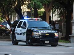 Houston Police Department Chevy Tahoe