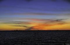 Surreal Stunning SprayPainted Sky Summer Sunset Seaside Scene (SOOC) - IMRAN™