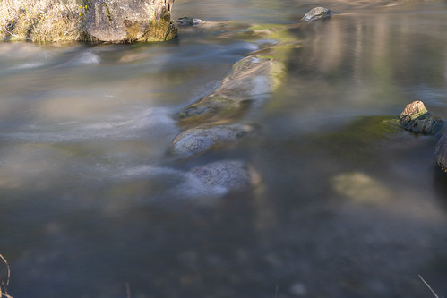 Water flows around the Stone 1