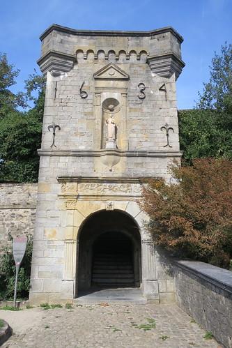 Entrée de la Citadelle - Portail de l'ancienne église St-Martin