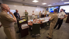 Joint Force Command holds a virtual table top exercise.