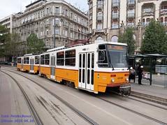 Tatra T5C5K2 4248 Budapest, Szent Gellért tér, 2019. 04. 24.