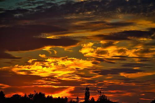 """Sunset """"con fuoco"""""""