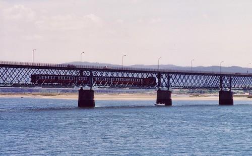 Ponte Rodo-Ferroviária de Viana do Castelo, Portugal
