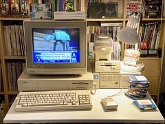 """Amiga 1000 for """"Pizza Week"""""""