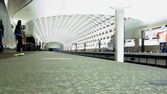 Pentagon City station, viewed from a low angle [01]