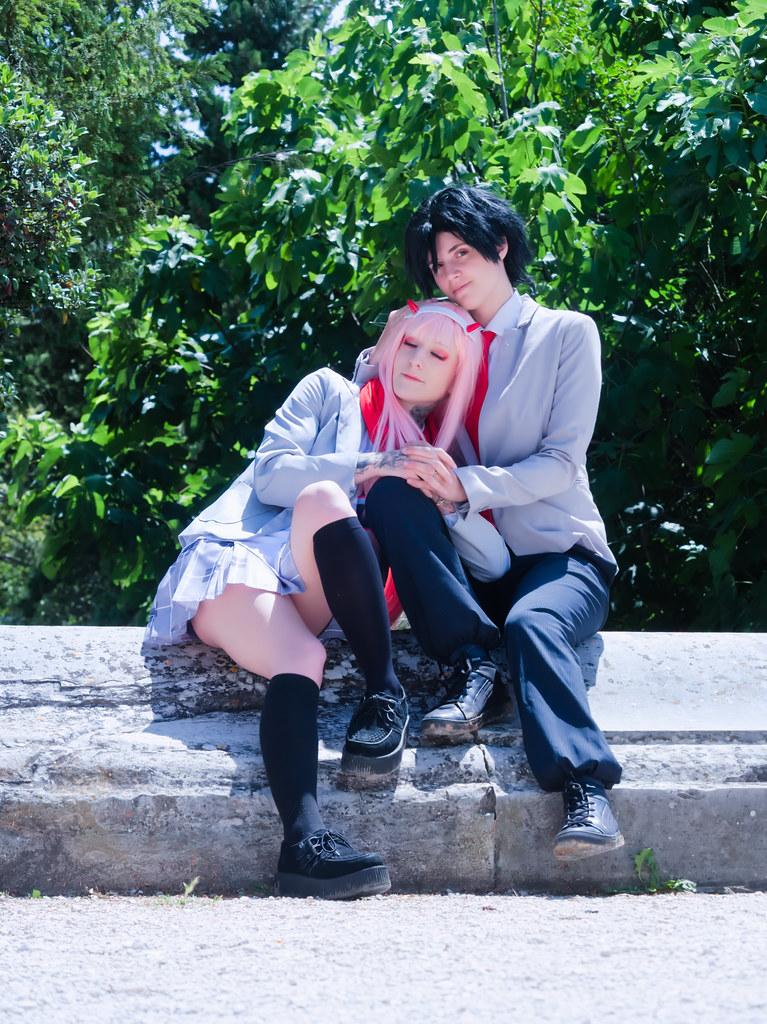 related image - Shooting Zero Two & Hiro - Darling in The Franxx - Shiva & Mikuo -2020-06-15- P2155294