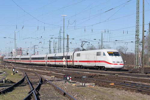 DB 401 015 Basel Badischer Bahnhof