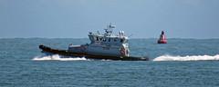 HMCPV 'Eagle' Border Force patrol vessel off Broadstairs, Kent, England 3