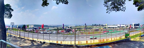 Panorama do Autódromo de Interlagos no Lollapalloza 2018
