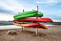 Lake Independence Kayak Stand