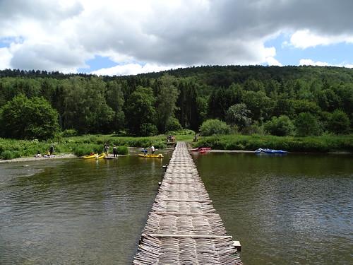 Le pont de claies à Laforêt