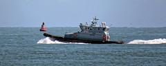 HMCPV 'Eagle' Border Force patrol vessel off Broadstairs, Kent, England 2
