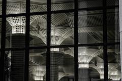 A claustrophobic ceiling