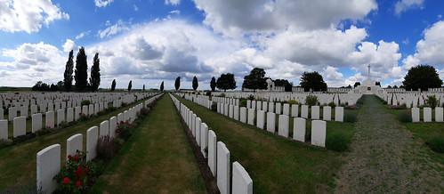 Tyne Cot Cemetery, Passchendaele