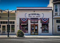 4th of July Store Front, Niles CA