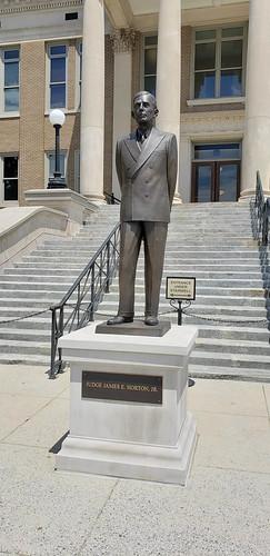 Judge James E. Horton, Jr. Statue
