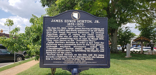 James Edwin Horton, Jr. Historical Marker