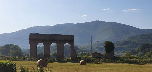 Acquedotto romano tra Tivoli e Castel Madama