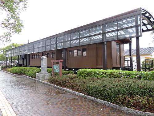 防石鉄道2号+ハ6+ハニフ1 防府駅鉄道記念広場 (5)