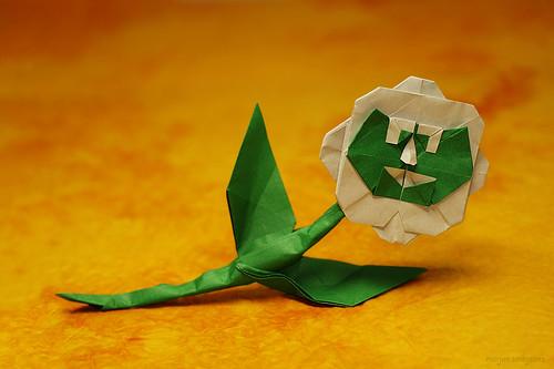 Origami Flor/Flower (Fernando Gilgado Gomez)