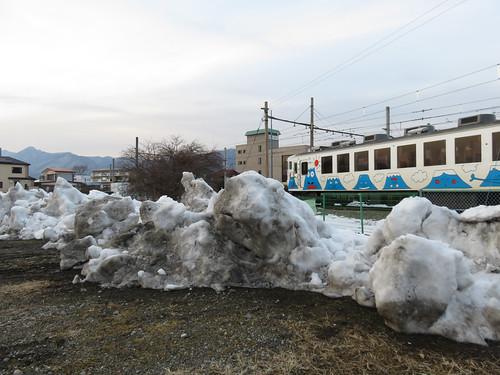 富士急 2000形さよならフジサン特急 河口湖駅 (2)