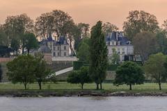 Vue sur Château Latour, Pauillac, France