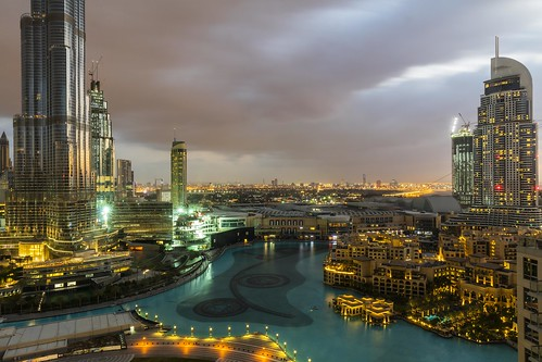 Dawn View of Dubai Downtown [In Explore 5 July 2020]