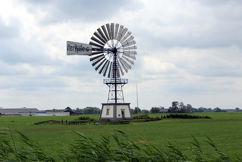 The American windmill of Greate Wierum